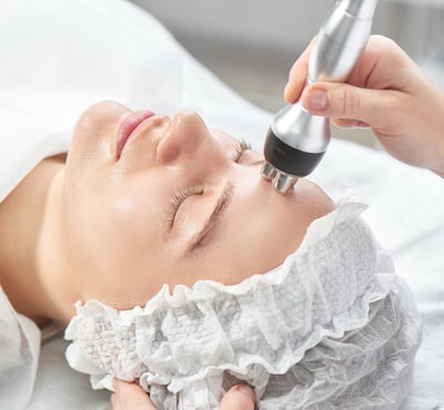 Skin wrinkles treated with thermage